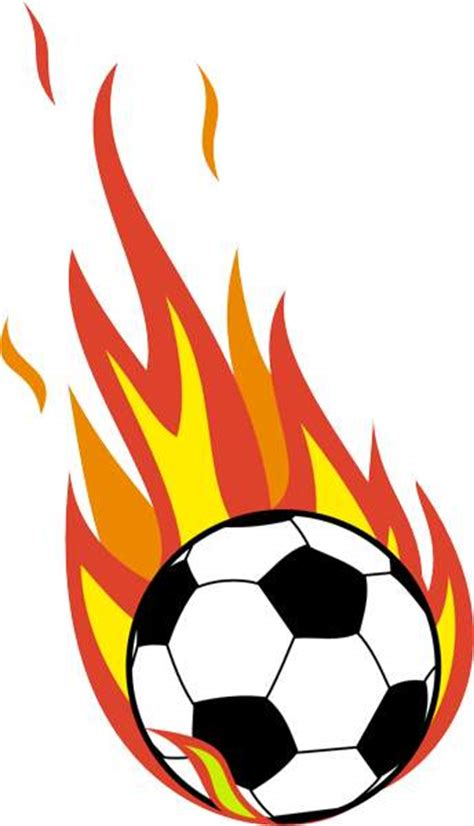 Free Clipart Flaming Soccer by Free Soccer Clip Pictures Clipartix