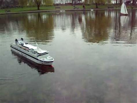 radio controlled model boats youtube radio controlled model boat finnjet cruise ferry youtube