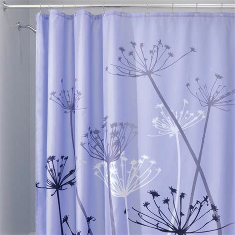 thistle shower curtain thistle shower curtain interdesign 174 target