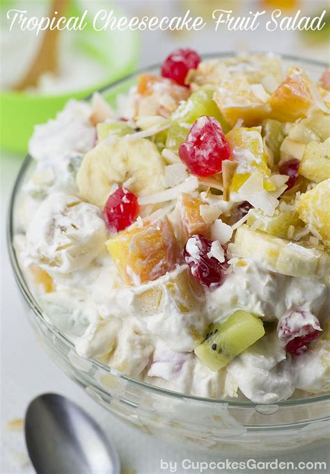 summertime tropical fruit salad recipe allrecipescom tropical cheesecake fruit salad recipe cheesecake