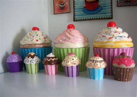 cupcake canisters for kitchen best 25 cupcake cookie jar ideas on pinterest christmas cookie jars sugar jar and best