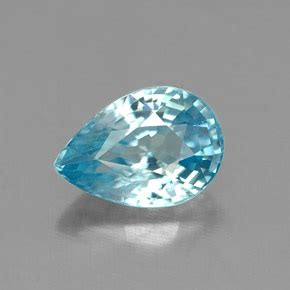 Moonstone Cat Eye 7 9x4 4 1 1 carat pear 6 9x4 9 mm blue zircon gemstone