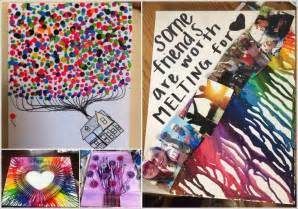 Artwork Ideas Over 50 Colorful Melted Crayon Art Ideas