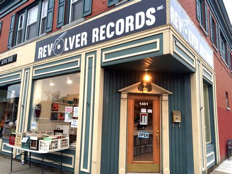 Buffalo Records Revolver Records Buffalo Rising