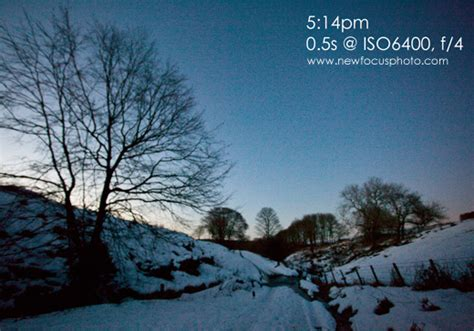 Landscape Photography Metering Metering For Low Light Landscapes