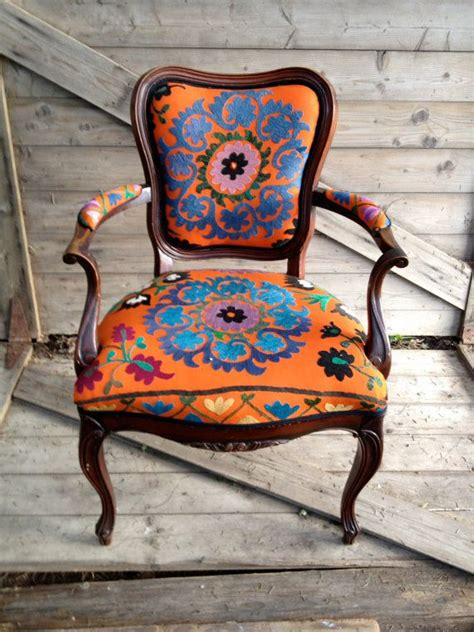 Bohemian Chairs by Bohemian Styled Chair Stunning Colors To Explore