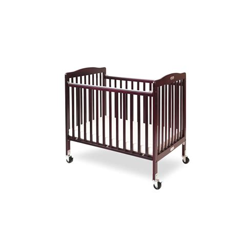 Cherry Wood Baby Crib L A Baby The Wood Crib Cherry Cherry Ebay