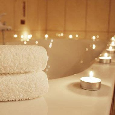 bathtub candles candles lit when having a bath relaxing also a romantic