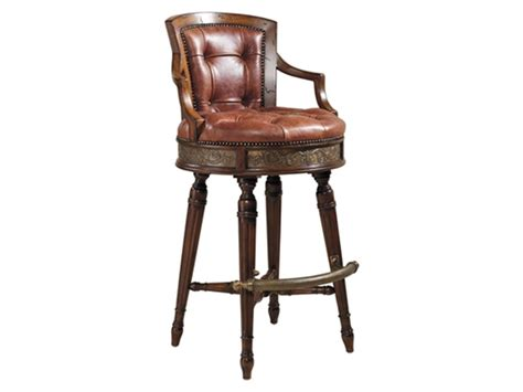 maitland smith bar stools maitland smith 4430 644 mahogany swivel counter stool