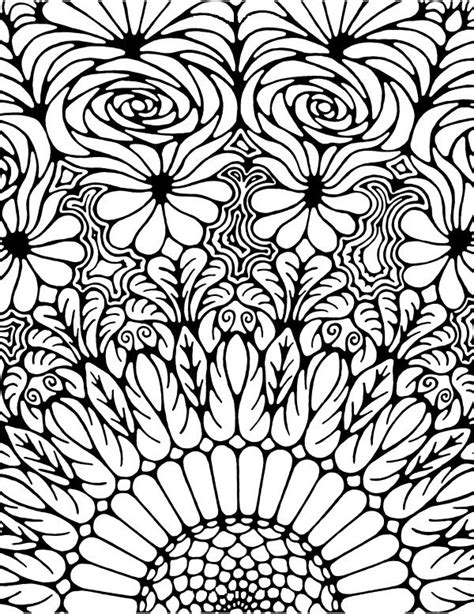abstract sunflower coloring page 16 images of zentangle sunflower coloring pages