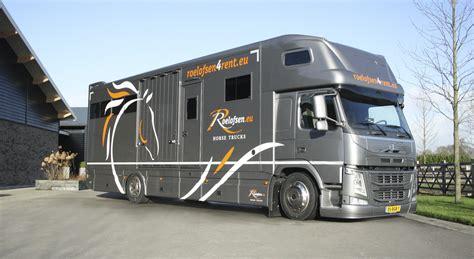 Rent Per Month by Rental Lease Roelofsen Horse Trucks