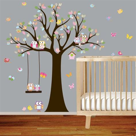 Wall Decor Stickers For Nursery les 25 meilleures id 233 es concernant stickers muraux d arbre