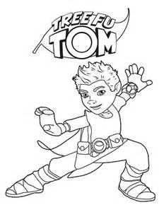 coloring pages tree fu tom tree fu tom coloring pages sketch coloring page