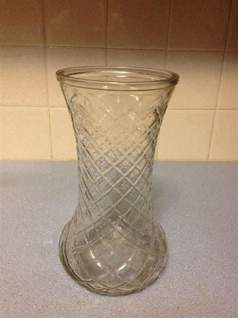 Hoosier Glass Vases by 4082 Hoosier Glass Vase 3 With Cut Design Collectors Weekly