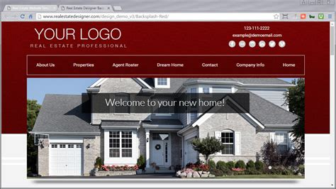 Real Estate Websites Templates Images Professional Report Template Word Realtor Website Templates With Idx