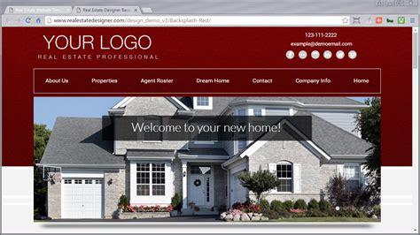 Real Estate Website Templates Idx Mls Integration Real Estate Designer Real Estate Website Templates With Idx