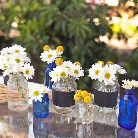 jar centerpieces for bridal shower southern themed bridal shower jars shower centerpieces and flower