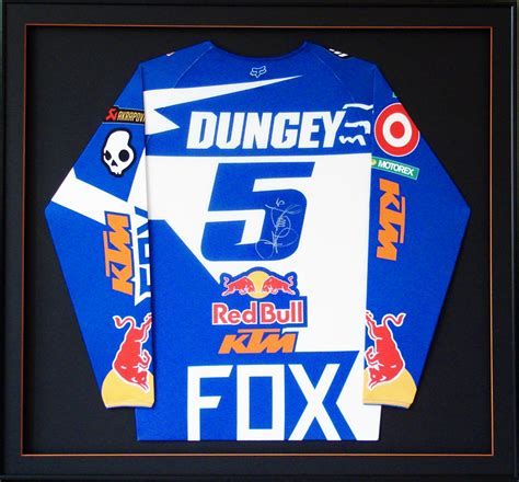 signed motocross jersey ryan dungey machina framed autographed jersey available at