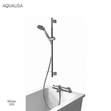 aqualisa bath shower mixer aqualisa midas thermostatic bath shower mixer set uk bathrooms