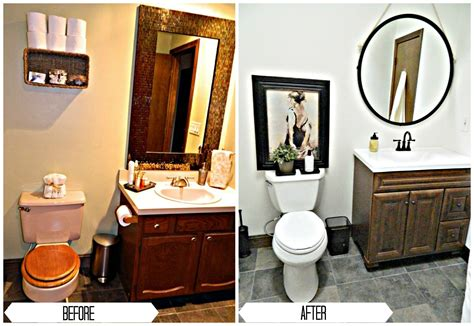 bathroom renovations before and after bathroom renovation under 1 000 finding silver linings