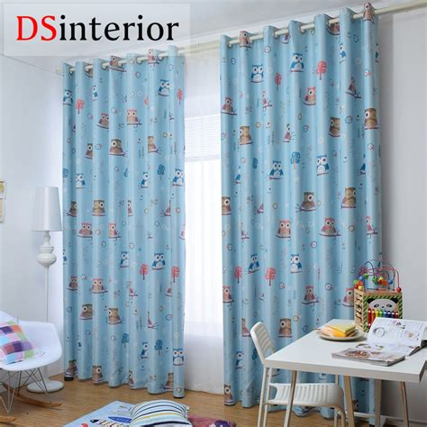 Baby Boy Nursery Curtains Blackout Shades Baby Room Axiomseducation