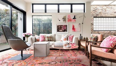 Patterned Chairs Living Room Design Ideas Girly Living Room Design Ideas Create Interesting Cozy Place