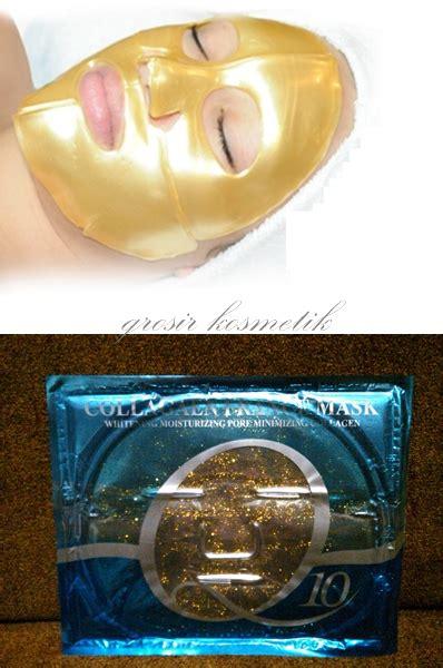 Masker Emas Collagen masker wajah untuk kulit lebih cantik kosmetik immortal
