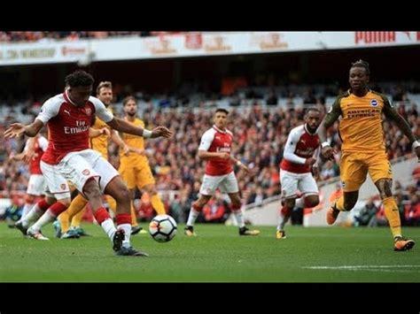 alexis sanchez vs brighton arsenal vs brighton match review featuring alexis