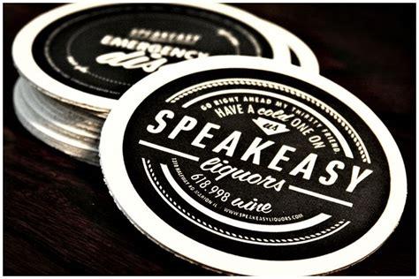 Kaos Moskov Print speakeasy liquors coasters speakeasy