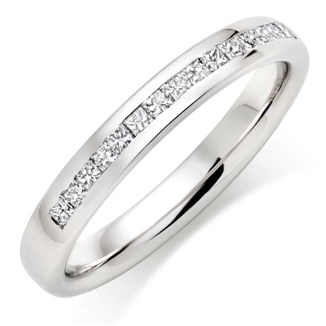 Hochzeitsringe Platin by Platinum Half Eternity Wedding Ring 0007300