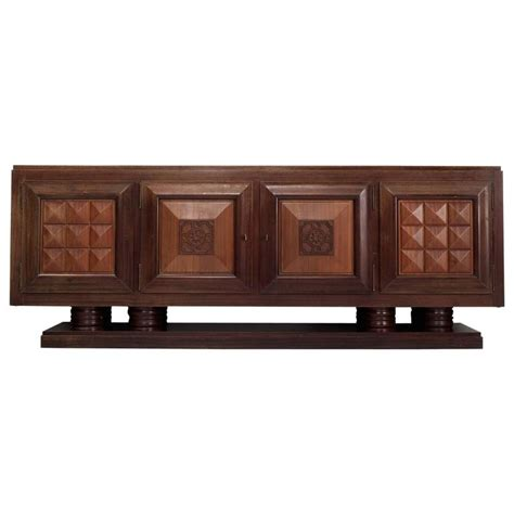 credenza deco gaston poisson large deco credenza for sale at 1stdibs