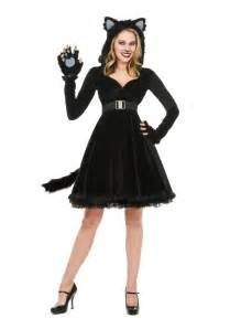 black cat halloween costumes women s black cat costume