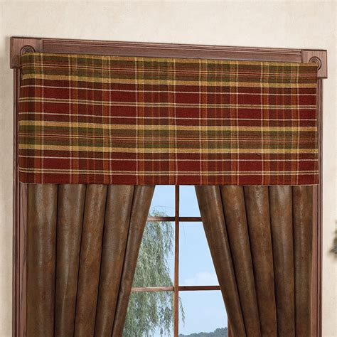 rustic curtain valances montana morning rustic window treatment
