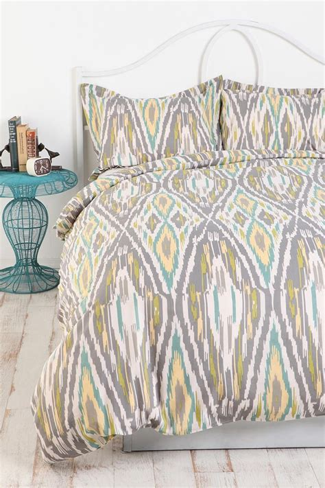 ikat bedding i am obsessed with ikat prints throw a few non matching