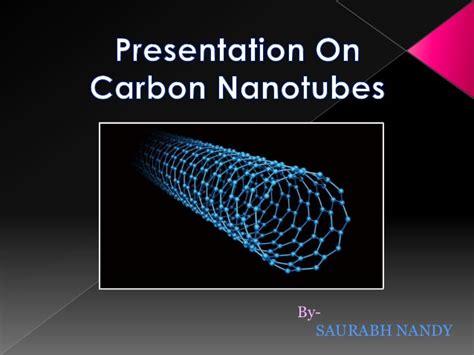 ppt templates for nanotechnology carbon nanotubes ppt