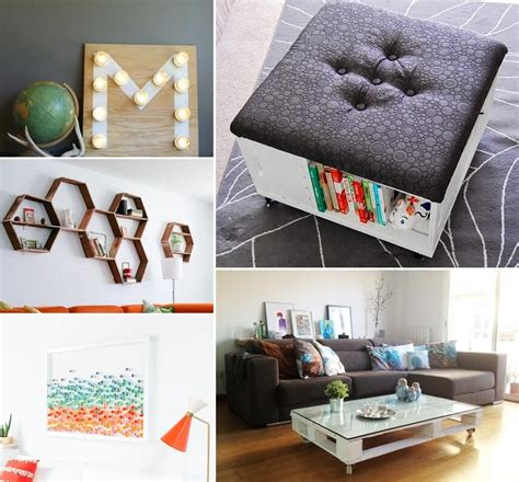 Diy Living Room Interior 26 Diy Living Room Decor Projects That Won T The Bank