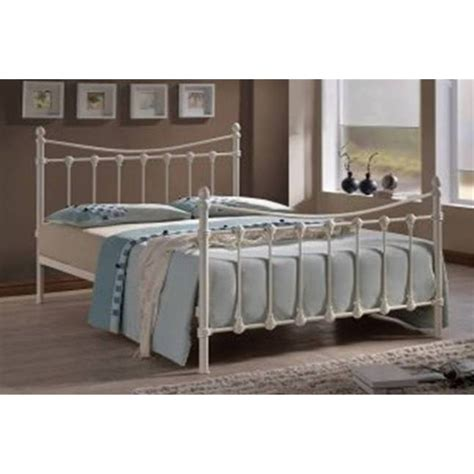 Next Metal Bed Frame Florida Ivory Metal Bed Frame Small 4ft Free Next Day Delivery