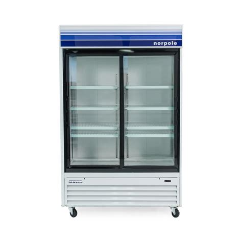 Summit Appliance 6 5 Cu Ft Sliding Glass Door All Commercial Refrigerator Sliding Glass Doors