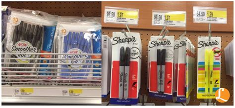office supplies target office supplies target deal 0 02 paper mate pens 0 29 sharpie highlightersliving rich with