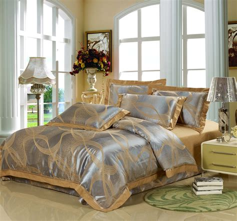 Silver And Gold Bedding Sets Fancy Comforter Sets Simple Bedroom Design With Modern Comforter Set Wooden Bed Framed
