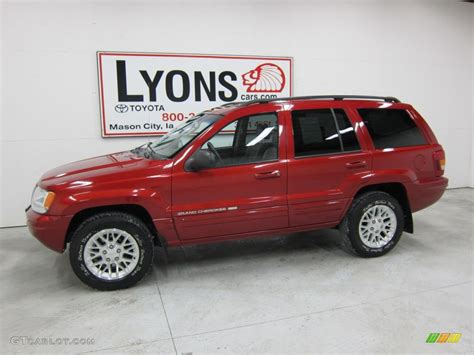 2002 Jeep Grand Light 2002 Inferno Tinted Pearlcoat Jeep Grand