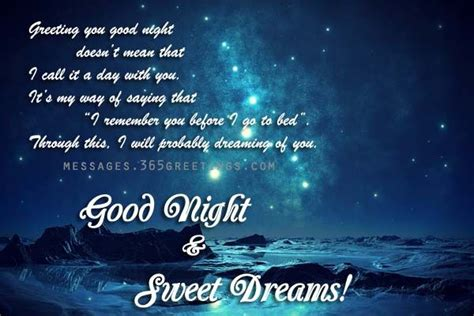 good night message for someone special for him messages goodnight sms text messages texts and sms