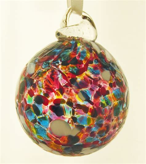 Handmade Glass Baubles - new our handmade baubles wight island glass