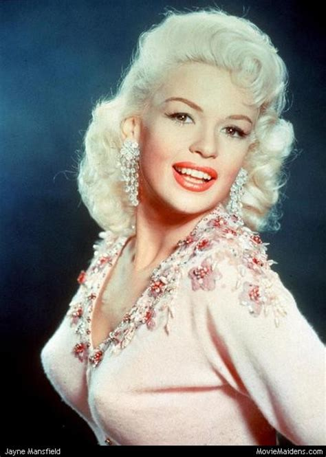jane mansfield jayne mansfield 1950s actress when she was young