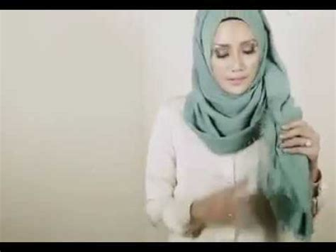 tutorial hijab tanpa jarum tutorial hijab simple tanpa jarum pentul youtube