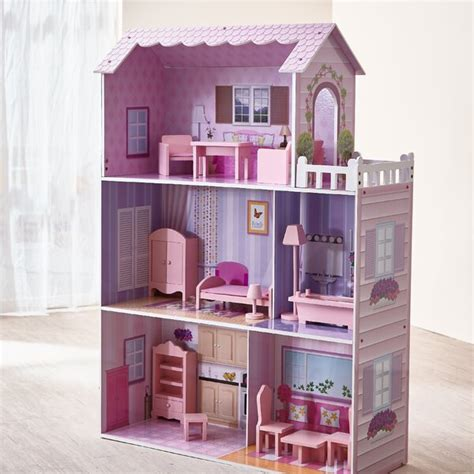 teamson kids fancy mansion doll house reviews wayfair