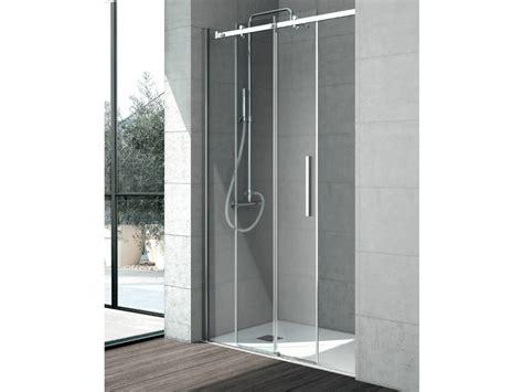 cabine doccia in cristallo box doccia in cristallo con porte scorrevoli flow box