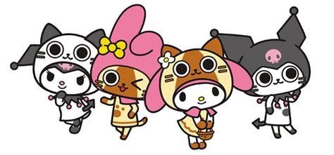 Figure Hello Crossover Sanrio Costume Set 4 gg figure news x my melody crossover goods