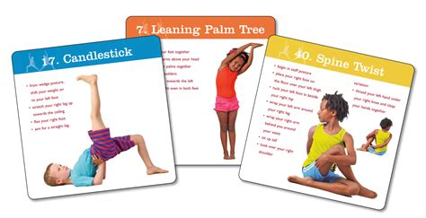 printable children s yoga cards creative yoga games for kids volume 2 katherine e