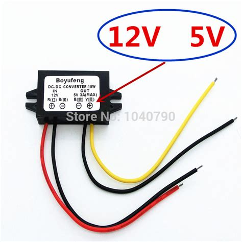 Baru Dc 24v To 5v 5a Car Power Supply Converter Penurun Tegangan buy wholesale 12v dc voltage regulator from china